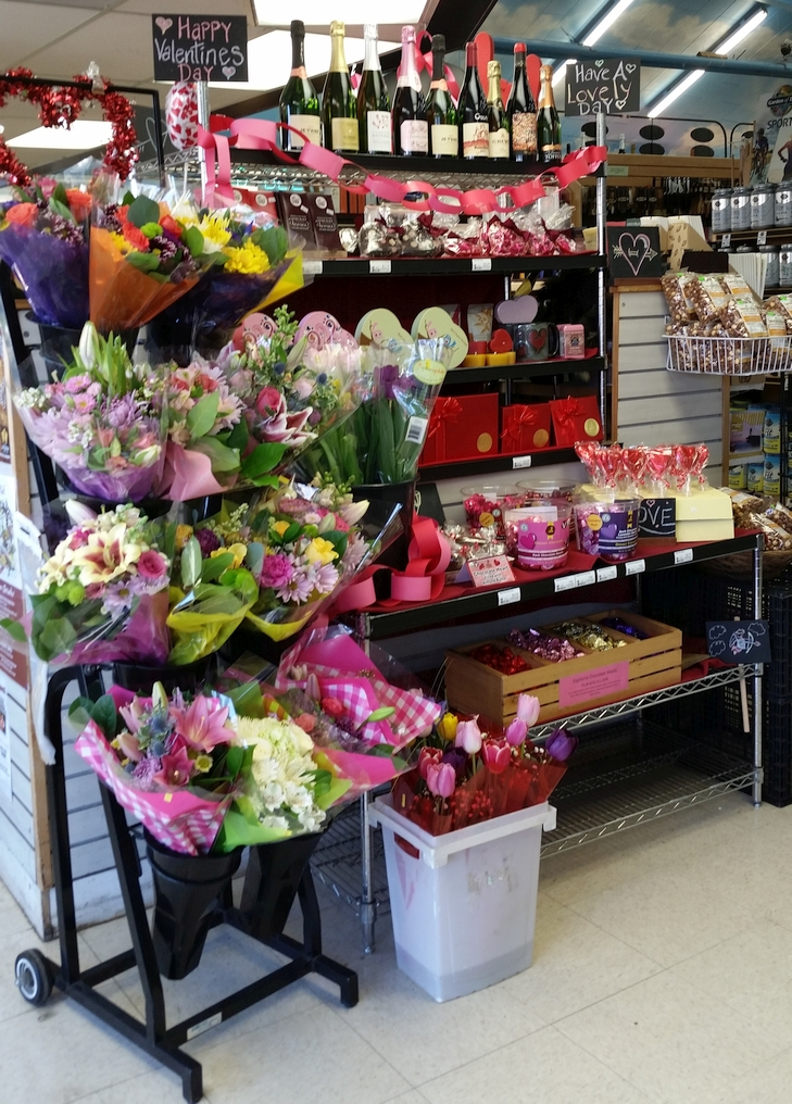 Our Valentine's Display